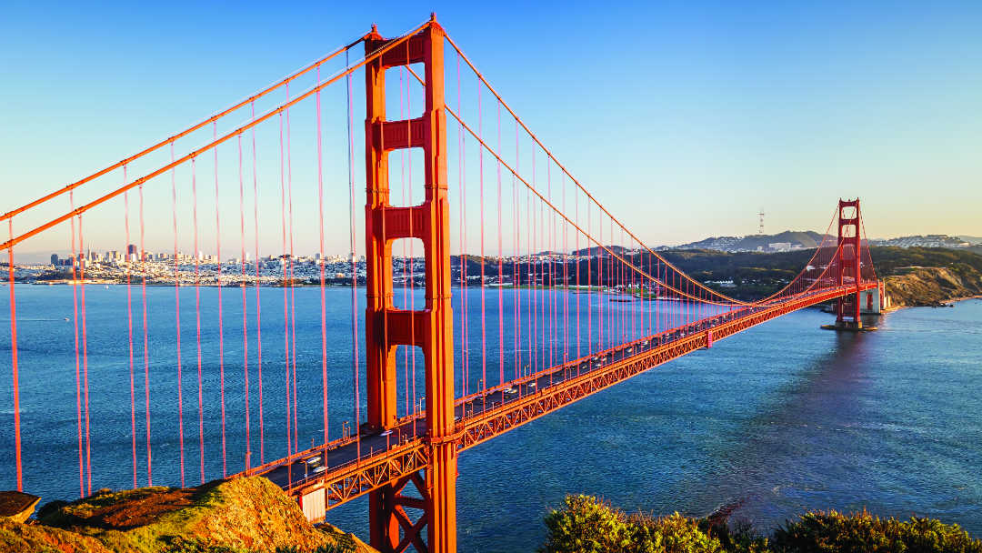 the other side of the golden gate bridge • essentially america